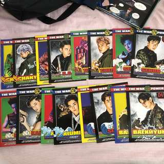 EXO POWER CARDS