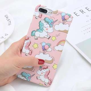 Casing Iphone 6/6sS Case Kartun Baby Unicorn Murah Lucu Pink