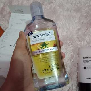 Dickinsons Original Witch hazel Pore Perfecting Toner!! Tried once! I have existing toner! Good as new!!
