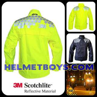 3M Raincoat Motorcycle 100% Waterproof