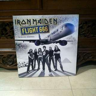 Lp...Vinyl...Iron Maiden Flight 666