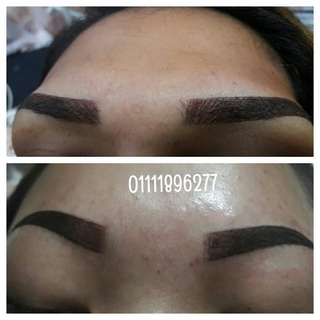 eyebrow embroidery normal