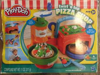 Playdoh pizza set