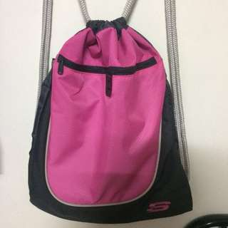 Skechers drawstring bag