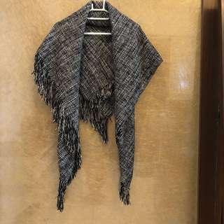 🚚 民族風披巾 9成新 多種造型隨意變化