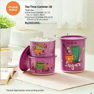 tea time canister