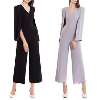 Jumpsuit cape