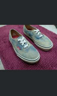 Authentic Denim Vans
