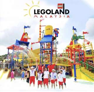 Legoland Waterpark - 2 adult tickets