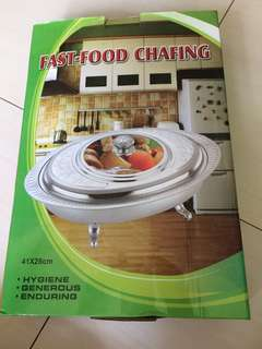 🚚 Food chafing