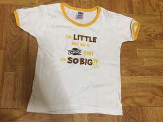 Cavaliers shirt for baby