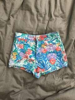 Topshop High Waist Shorts