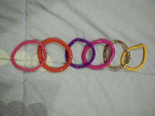 Lovisa Multi coloured Bracelet Set