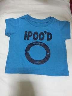 """Ipood"" baby shirt"