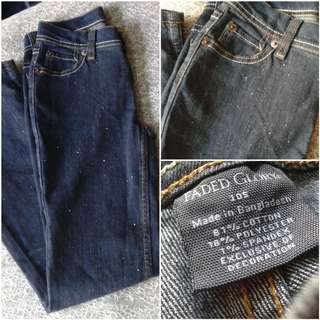FreeSF| Faded Glory Jeans (Size 24)