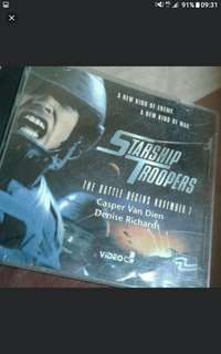 Starship troopers vcd  Vcd sale Buy 2 get 1 free!  $2  Postage $1