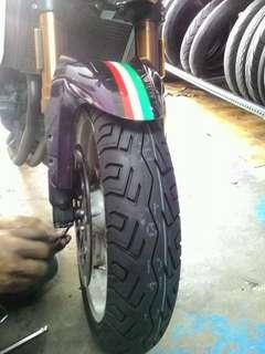 Port tayar motosikal viral tyrenest seksyen 16 shah alam, tayar power harga murah