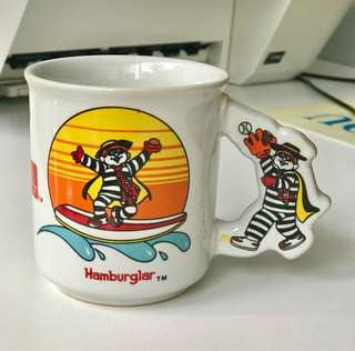 Antique Hamburglar Mug