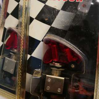 Racing switch with RED cover