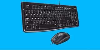 Logitech MK120 有線鍵盤滑鼠