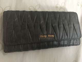 Miu Miu 銀包 錢包 wallet 100%真貨 real authentic