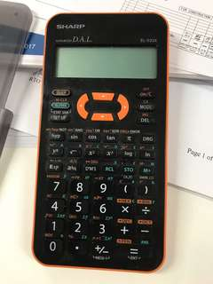 Scientific Calculator (EL-533X)