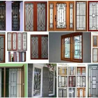 Model minimalis untuk tralis jendela