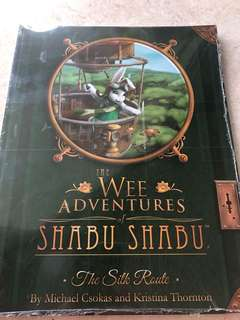 The Wee Adventures of Shabu Shabu - The Silk Route