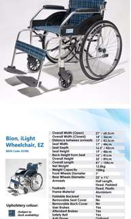 Bion, iLight Wheelchair, EZ
