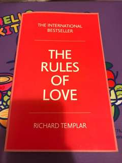 The Rules of Love Richard Templar 戀愛 書籍