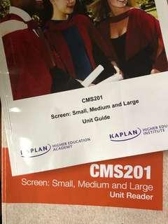 Cms201 textbook