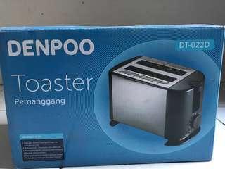 Toaster Pemanggang Roti Denpo