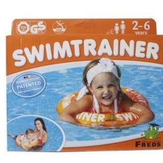 橘色款 FREDS SWIMTRAINER 兒童學習泳圈  ☆