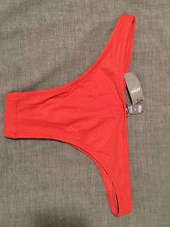 Bathing suit bottoms, size small
