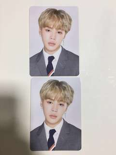 BTS 4th Muster Mini Photo Card JIMIN