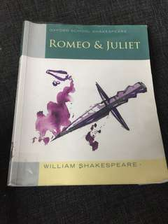 🚚 Romeo and Juliet Oxford school Shakespeare text book