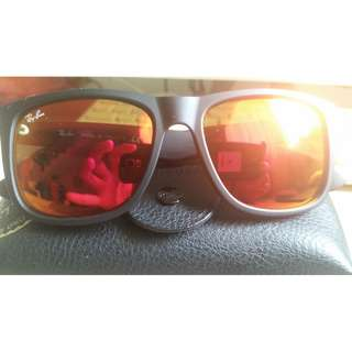 Ray ban justin polorized shades original