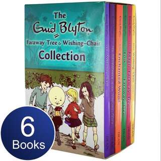 Enid Blyton 6 books colletion