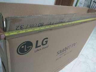 LG 32' TV BOX