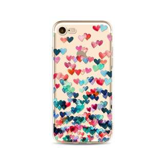 🌼C-1212 Colorful Heart Case🌼