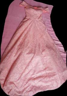 Long Semi Ball Gown