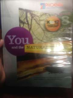 You and the Natural world science 8