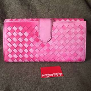 Bottega Veneta Long Wallet with minor flaw
