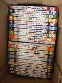 Diary of Wimpy kid 10books