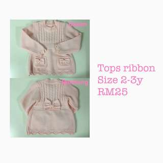 Tops ribbon