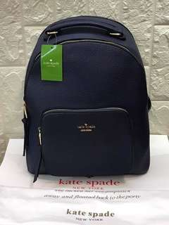 Kate Spade Backpack Leather Authentic Grade Quality
