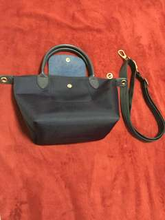 Authentic longchamp sling bag