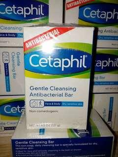 Cetaphil Gentle Cleansing Antibacterial Bar 127g