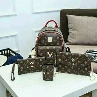 LV 4in1 bag set