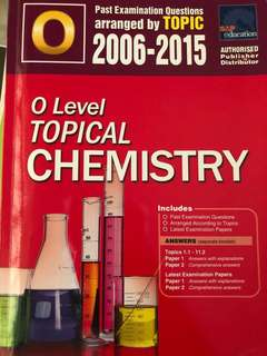 O Level TYS (topical chemistry)
